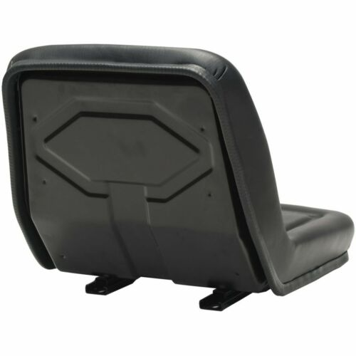 Universal Adjustable Suspension Seat Chair Tractor Dumper Forklift  Digger Black