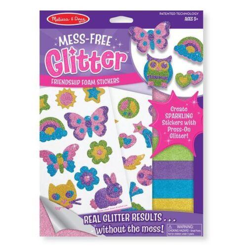 NEW Melissa /& Doug Mess-Free Glitter Kids Craft Kits Stickers *FREE AU SHIPPING*