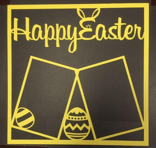 Happy Easter Scrapbook Overlays