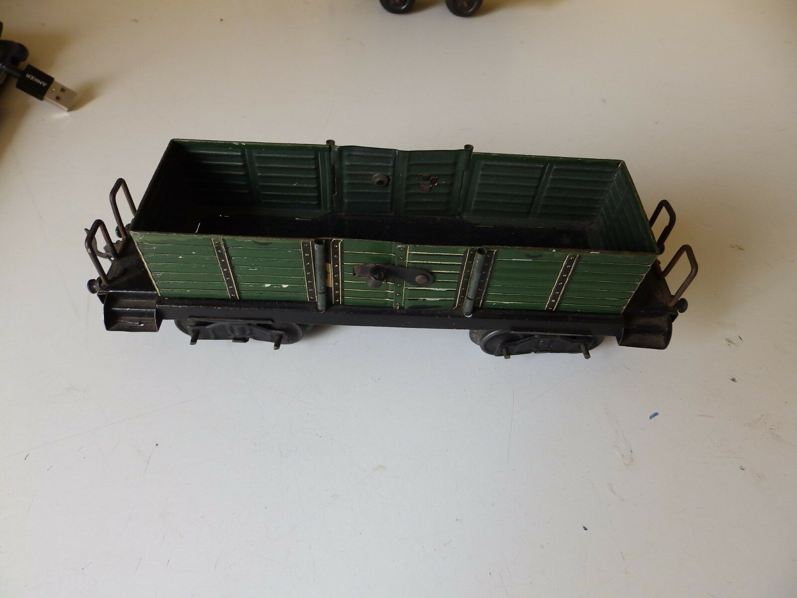 Vintage Original Bing O Gauge Open wagon Very RARE