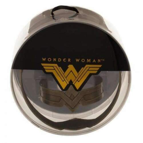 OFFICIALLY LICENSED DC Comics Wonder Woman Two Piece Tiara and Arm Cuff Set