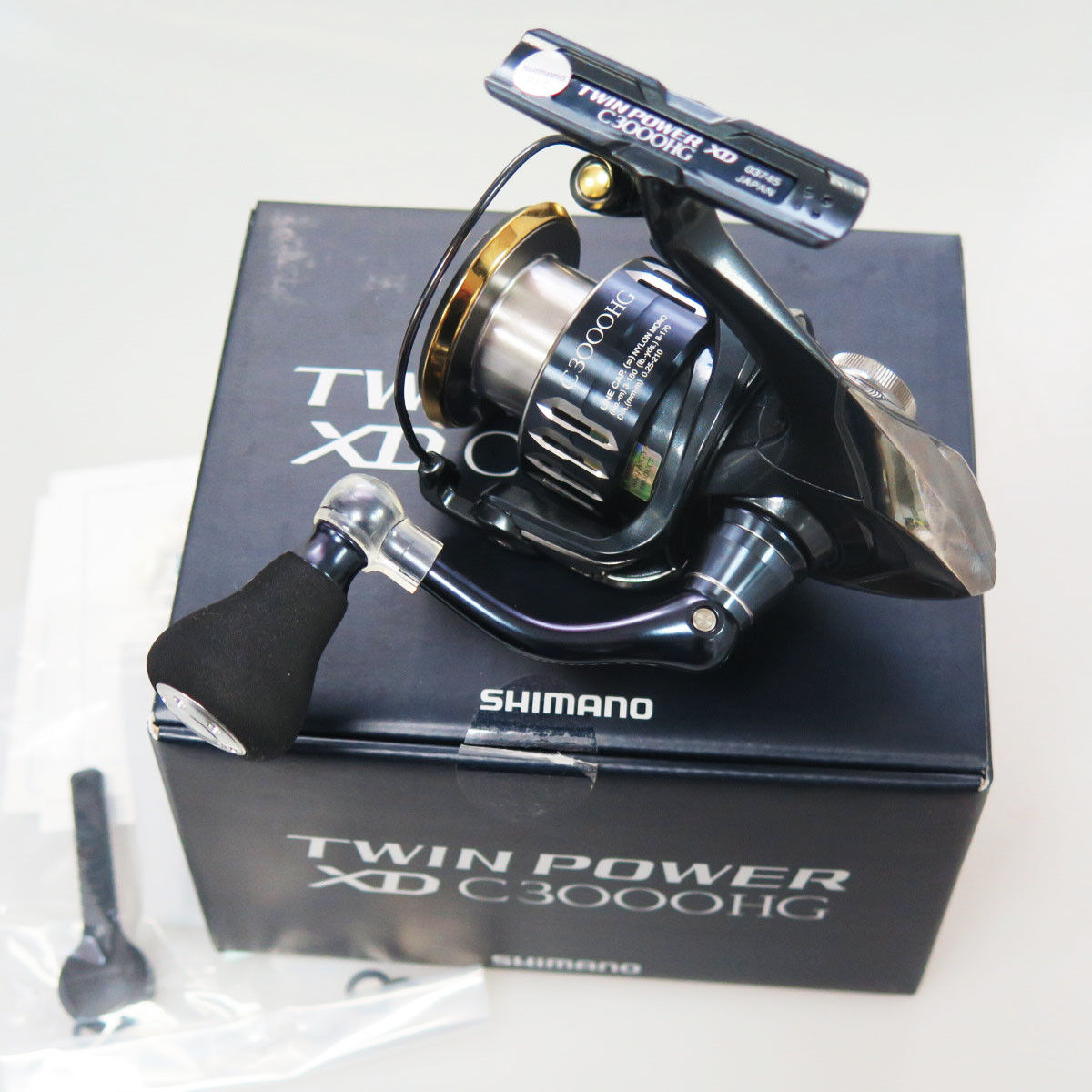 Shimano TWIN POWER XD C3000HG Spinning Cocheretes FedEx Priority 2 días a usa