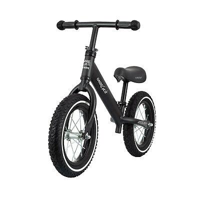Bicicleta sin Pedales para Ninos iWatCycle Negra Manillar y sillín ajustables