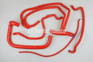 Kit-5-durites-silicone-Peugeot-205-Rallye-1-3L-Durite-Soupapes-Neuf-ROUGE