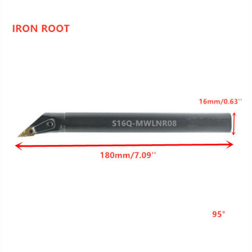 S16Q-MWLNR08 CNC Lathe Internal Turning Tool Holder Boring Bar For WNMG08 Insert