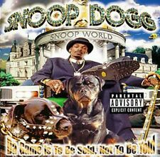 Snoop Dogg - Da Game Is to Be Sold Not to Be Told [New CD] Explicit