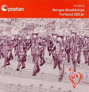 Norway-2018-MNH-Marching-Band-10v-S-A-Booklet-Music-Musical-Instruments-Stamps