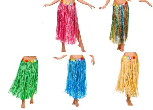 Hawaiian Hula Grass Skirt Costume Plus Size 80cm length Size 18-24