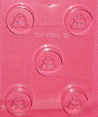 Frog,Swamp,Toad,Cookie Candy Mold,Chocolate//Oreo,Clear Plastic,C//K