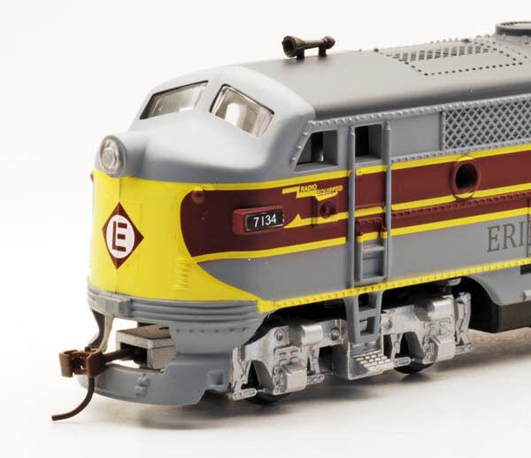 Ho Ihc Erie Lackawanna F-3 un loco DCC/Sonido EMD Erie  restaurado
