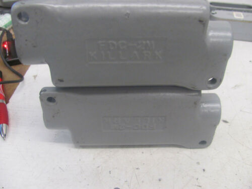 "Details about  /LOT OF 2 KILLARK FDC-2M 1/"" BOX"