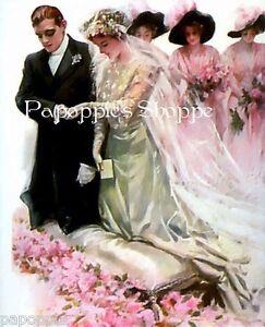 Harrison-Fisher-Girl-Wedding-Fabric-Block-Panel