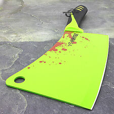 "11.5"" ZOMBIE HUNTER KILLER MEAT CLEAVER APOCALYPSE BUTCHER KNIFE Chopper Kitchen"