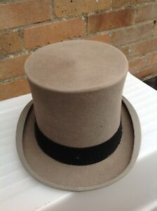 Vintage Original Gieves Top Hat In Its Original Gieves Hat Box-gieves And Hawkes-afficher Le Titre D'origine