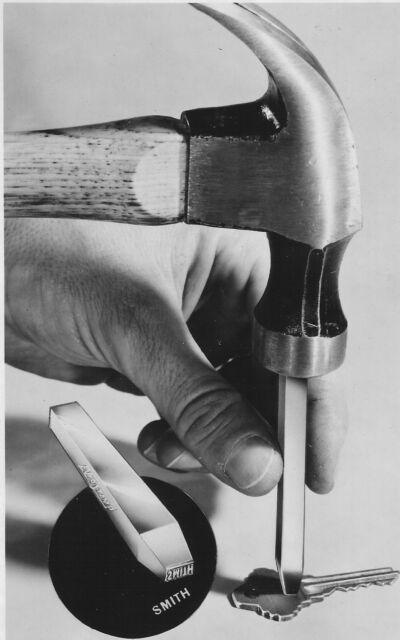 Custom Steel or Wood Stamping Punch 1/8