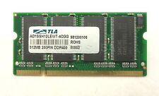 512MB DDR 400mhz PC3200 SODIMM Laptop RAM 200 pin Memory AD1SSH12LEWT-4CGG