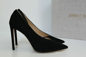 d41d838241 New sz 8 / 38 Jimmy Choo Sophia Black Suede Pointed Toe Classic Pump ...