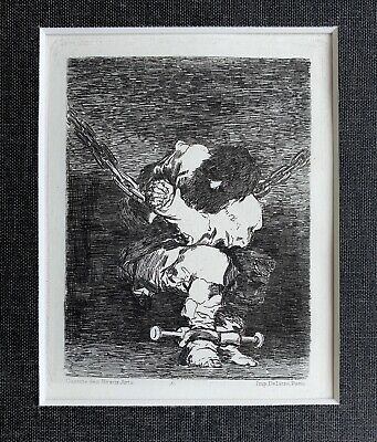 Francisco Jose De Goya Play Another With Cape Art Print Framed 12x16