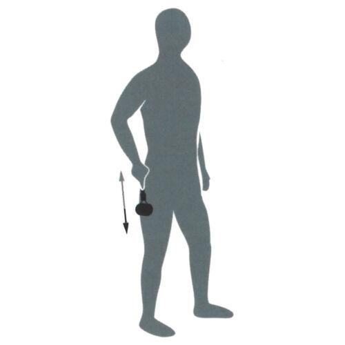Blackroll Aiguille ROLLER needleroller 26x8x4,5 cm