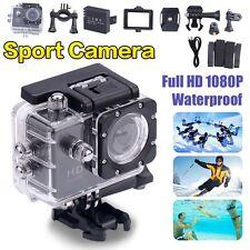 Full HD 1080p Sports Action Waterproof Camera Video Helmet Cam Bike DVR UK Stock