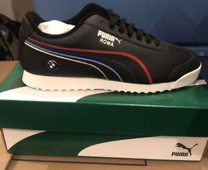 Puma-BMW-Motorsport-MMS-Roma-Men-s-Sneakers-Color-Black-Sz-10-Great-Street-Wear