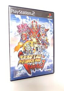 SUPER-ROBOT-TAISEN-WARS-Impact-Sony-Playstation-2-PS2-Jap-Japan