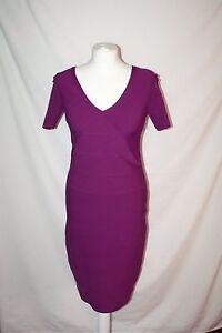 Rouge Moulante Medium Violet Robe Reiss Violet Bnwt Fuscia Taille YCqznwa