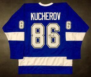 Nikita Kucherov Signed Tampa Bay Lightning Jersey  JSA COA All Star ... d0c10984c