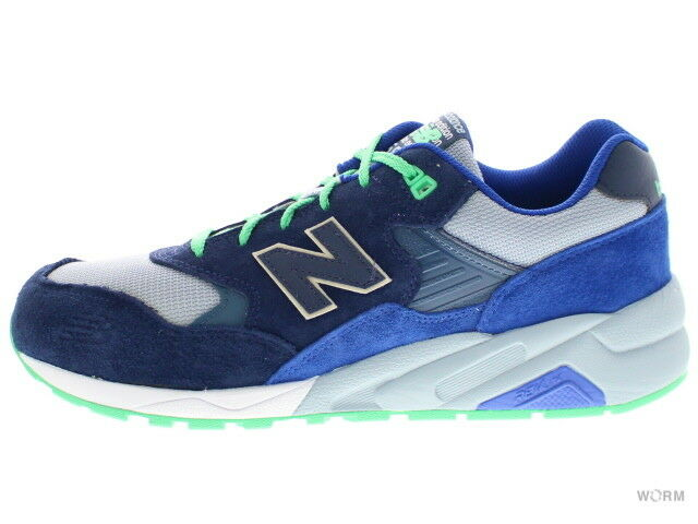 NEW BALANCE MRT580OV navy bluee green Size 9.5