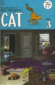 THE-ADVENTURES-OF-FAT-FREDDY-039-S-CAT-BOOK-3-1ST-1977-FABULOUS-FREAK-BROTHERS