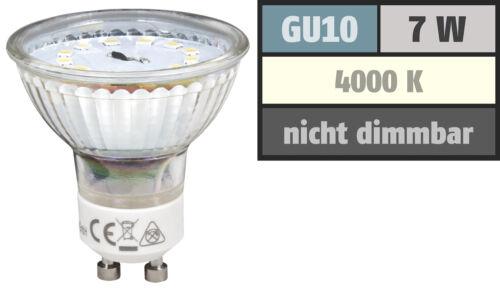 7W=60W LED Einbauleuchten 1-/>10er Sets SMD Einbaustrahler Tom 230Volt Spots