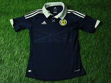 SCOTLAND NATIONAL TEAM 2012/2014 FOOTBALL SHIRT JERSEY HOME ADIDAS ORIGINAL