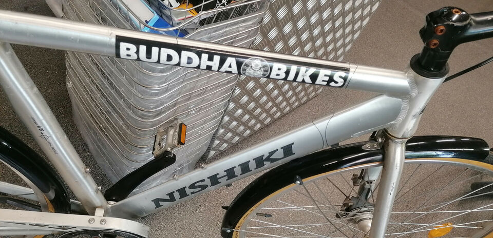 En brugt fixie bike Nishiki