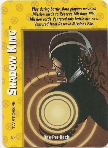 OVERPOWER Shadow King LOT X-Men hero 9 sp Psi-Screen Telepathic Marvel 10