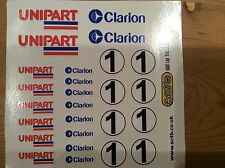 Scalextric /Slotcar Pre-Cut Decal Set A8820 SCX, Ninco