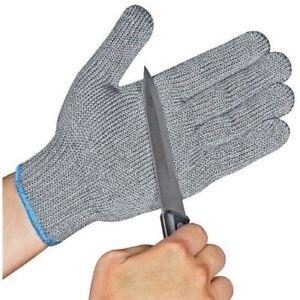 10-pair-Safety-Cut-Proof-AntiCut-Resistant-Kitchen-Butcher-Gloves-Level-5-M-L