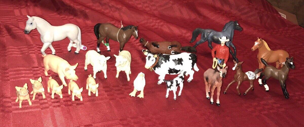 Safari ltd menge tiere & pferde selten & rentner mit neuen und gebrauchten menge