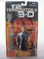EXPLODING T-1000 Terminator 2 3D T2 Action Figure MOC KENNER 1997