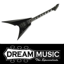 NEW ESP E-II ARROW BLK Flying V Electric Guitar Black EMG Pickups RRP$3999
