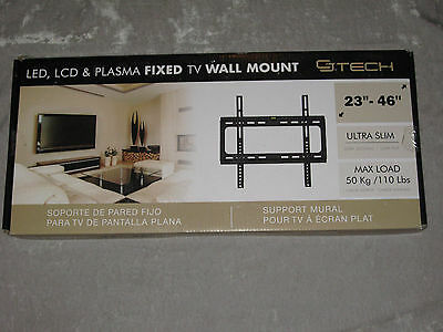 "Slim LED LCD OLED TV Universal Wall Mount Bracket Up to 70/"" Inch Max 50KG"
