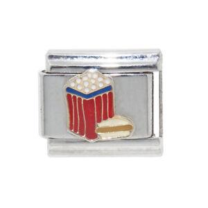 Popcorn-and-hotdog-Italian-Charm-fits-9mm-classic-Italian-charm-bracelets