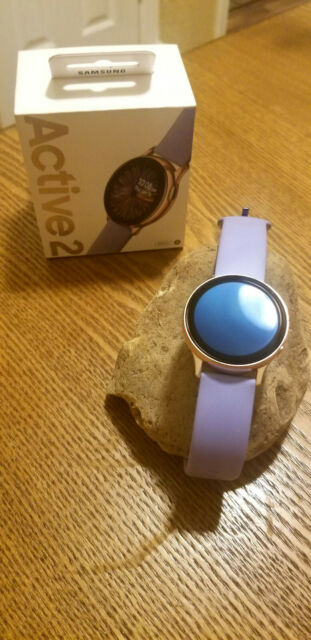 Samsung Galaxy Watch Active2 40mm Rose Gold with Violet Band