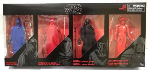 NON MINT BOX HASBRO STAR WARS BLACK SERIES Royal Imperial Guard Figure 4 Pack
