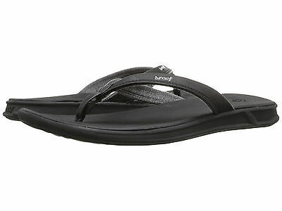 Women Reef Rover Catch Sandal Flip Flops RF1465 Black 100/% Original Brand New