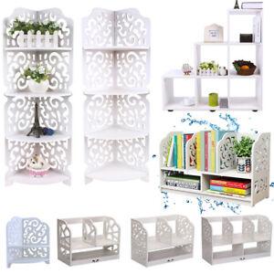 Image is loading Modern-Wall-Corner-Storage-Shelving-Unit-Bookshelf-CD-  sc 1 st  eBay & Modern Wall Corner Storage Shelving Unit Bookshelf CD DVD Toy Stand ...