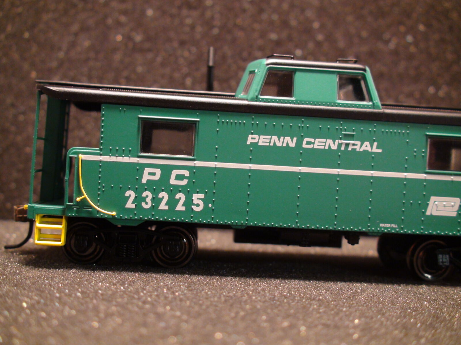 Bowser N-8 furgón de cola PC Keystone Road línea Ejecutivo Central Penn
