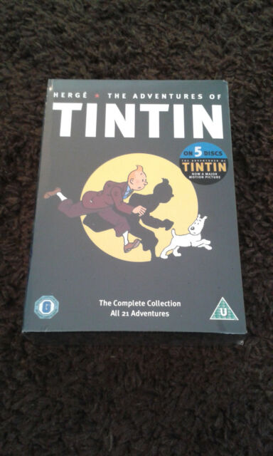 DVD The Adventures Of Tintin The Complete Box Set All 21 Adventures New & Sealed