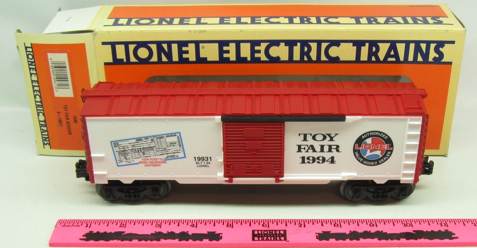 Lionel  6-19931  1994 Toy Fair Boxcar