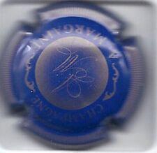 Capsule de champagne A-MARGAINE N°1 Bleu et or striée