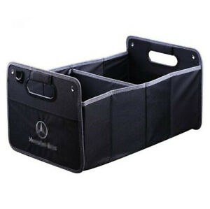 Car Trunk Organizer Heavy Duty Collapsible Auto Trunk Storage Box for Benz